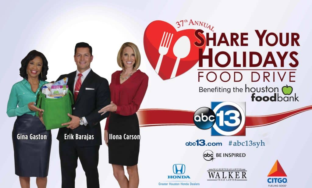 Walker Texas Lawyer and ABC 13 Food Drive