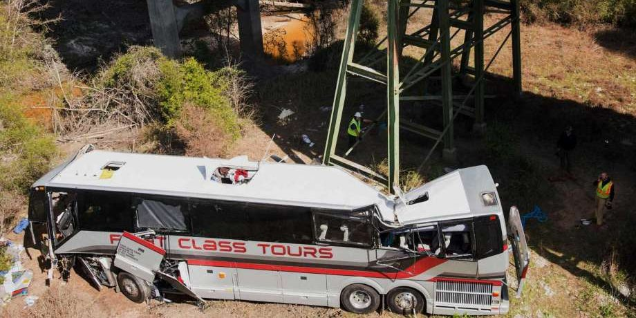 Bus Accident: Fatal Crash with Band Students on Board