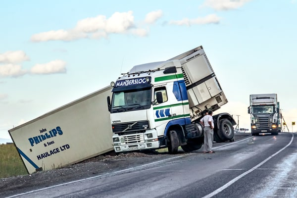 Jackknife Truck Accidents - Truck Accident Attorney
