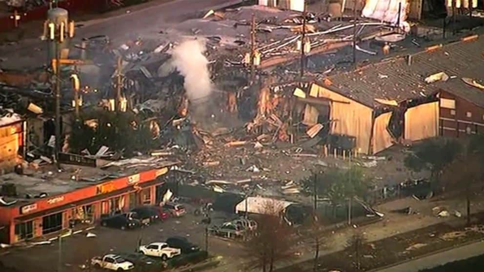 A Gas Explosion in Houston, Kills Two